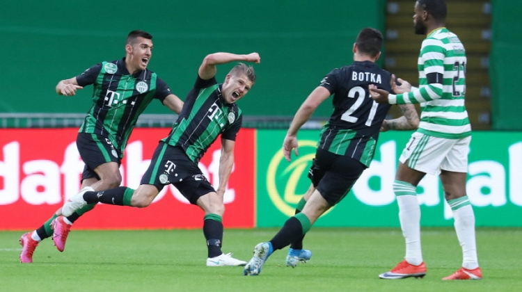 Video: Budapest's Fradi Beat Celtic In Shock Football Result