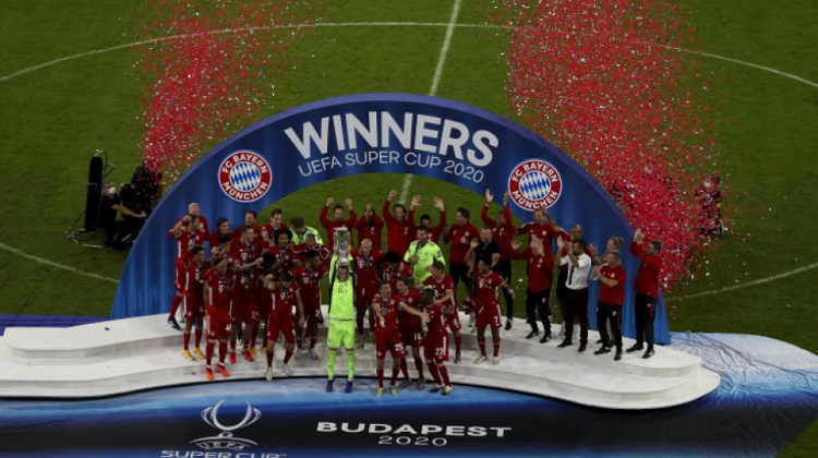 Bayern Secure Super Cup Final Glory In Budapest