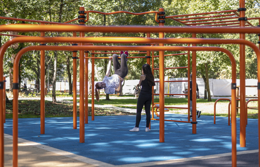 New Budapest City Park Outdoor Sports Centre Opening