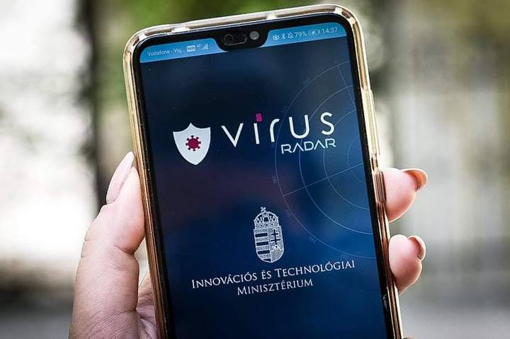 So far, 35,000 people have downloaded the application, which is currently available for Android operating systems, Palkovics said.    The app uses t