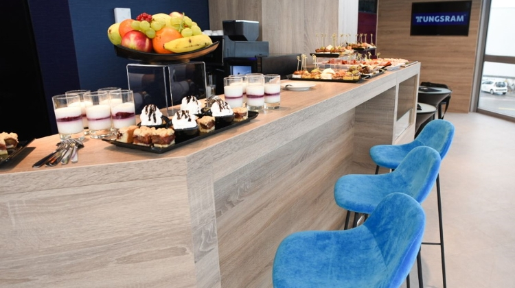 Tungsram Lounge Opens At Budapest Airport