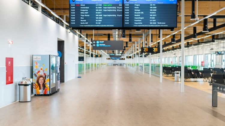 Photos: Pier 1 Ready At Budapest Airport, Price Tag HUF 11.5+ Billion