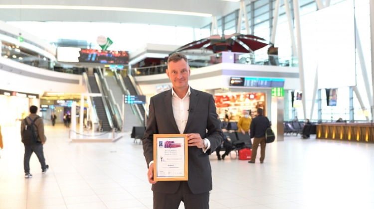 Budapest Airport Sustainability Scheme Gets International Award