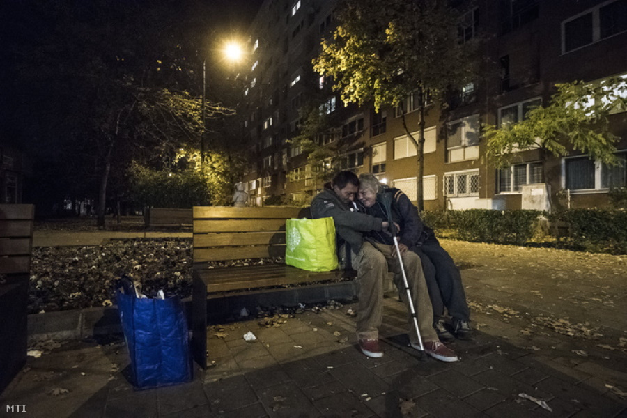 Budapest Public Service Firms Urged To Look Out For Homeless As Temperatures Drop