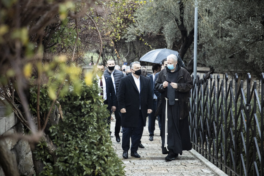 Orbán Visits Jerusalem To See What Hungary Can Learn From Israel's Fight Against Covid