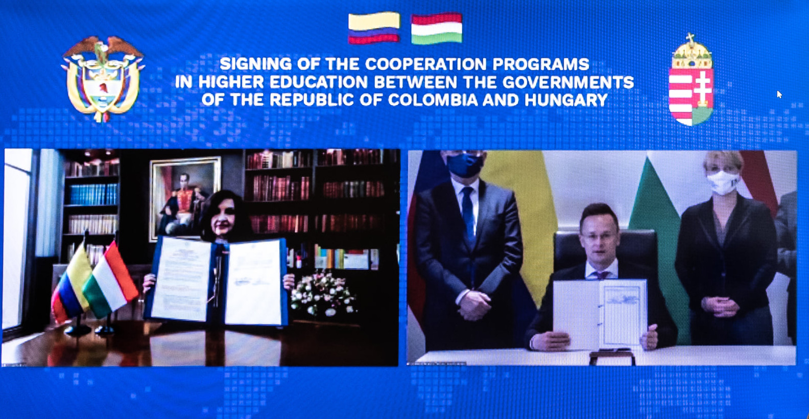 Colombia & Hungary Sign Fresh Cooperation Agreements