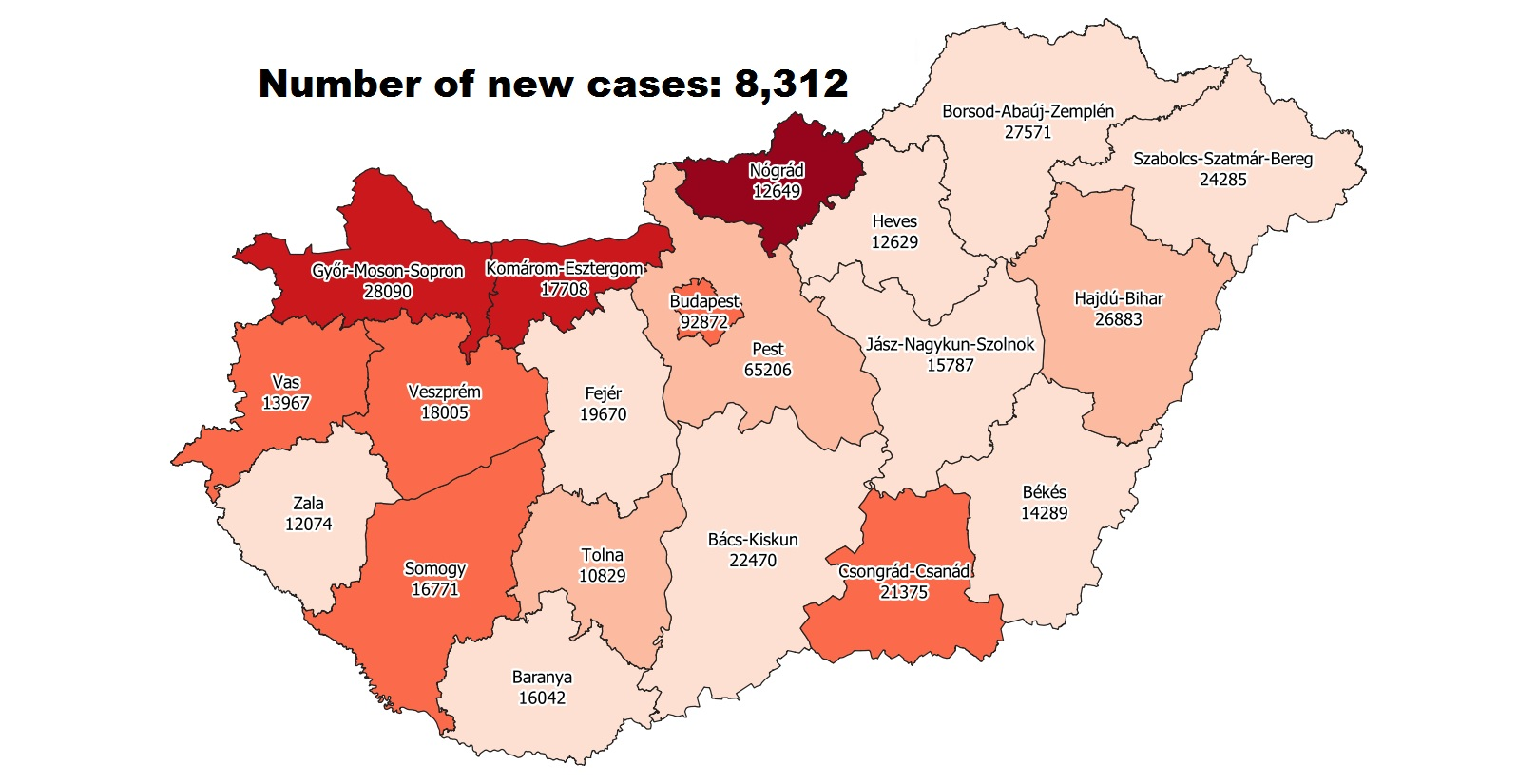 Covid Update 128,408 Active Cases 172 New Deaths In Hungary