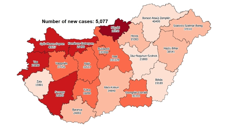 Covid Update: 272,459 Active Cases 291 New Deaths In Hungary