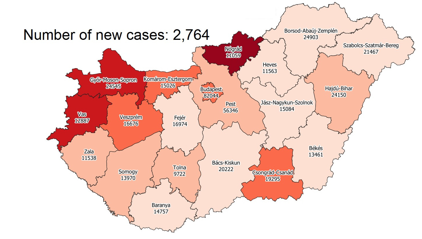 Covid Update: 96,299 Active Cases, 130 New Deaths In Hungary
