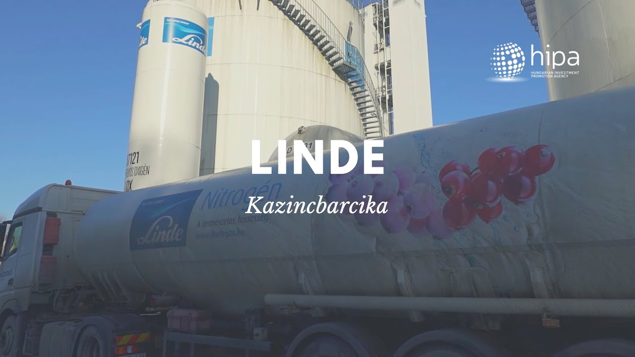 Watch: New Linde Investment Worth HUF 14 Billion In Hungary