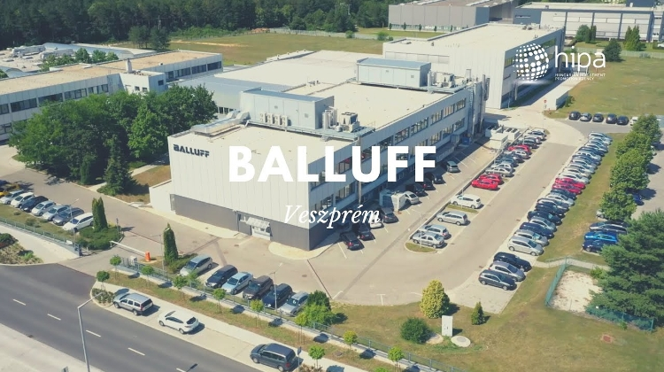 Watch: Automation Specialist Balluff To Invest EUR 5.8 million In Veszprém, Hungary
