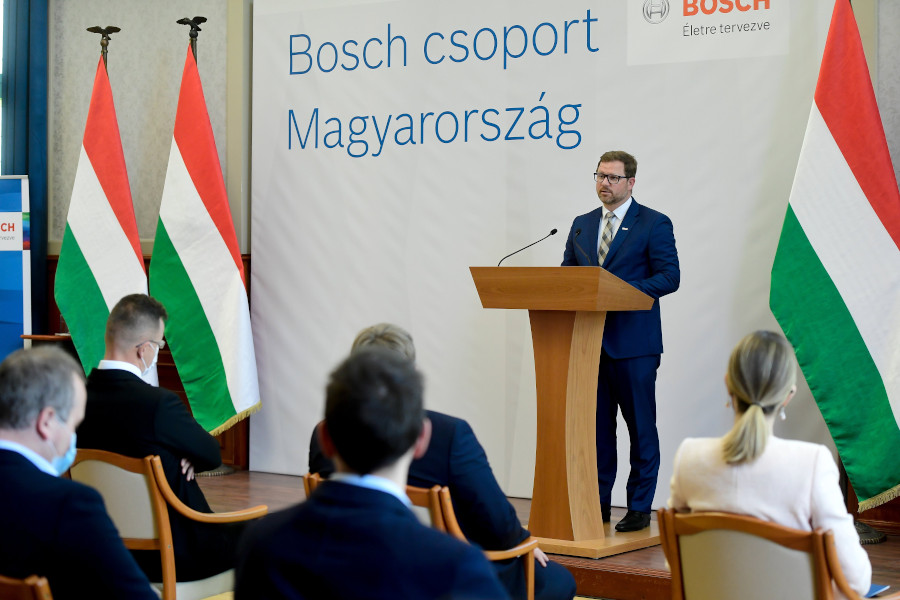 Bosch Building HUF 6 Billion Regional Service Centre Near Budapest