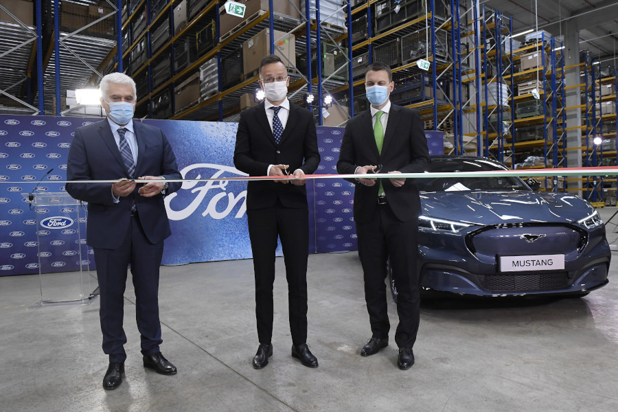 HUF 3 Billion Logistics Centre Inaugurated By Ford In Biatorbágy