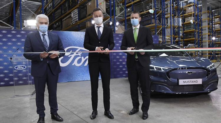 HUF 3 Billion Logistics Centre Inaugurated By Ford Near Budapest In Biatorbágy