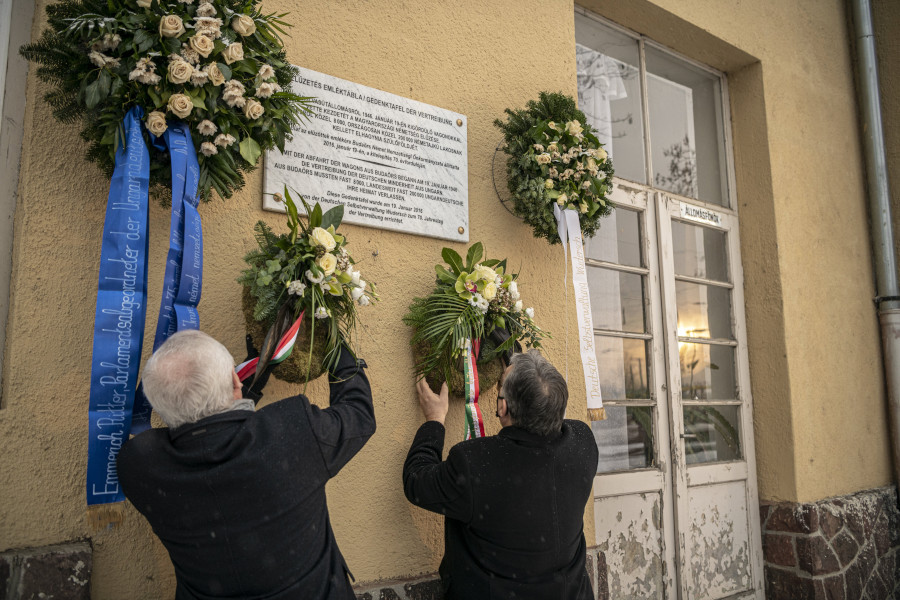 Memorial Day Of Ethnic Germans Deported From Hungary Marked