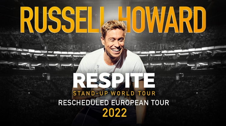 Date Change: Russell Howard's 'Respite Comedy Show' In Budapest