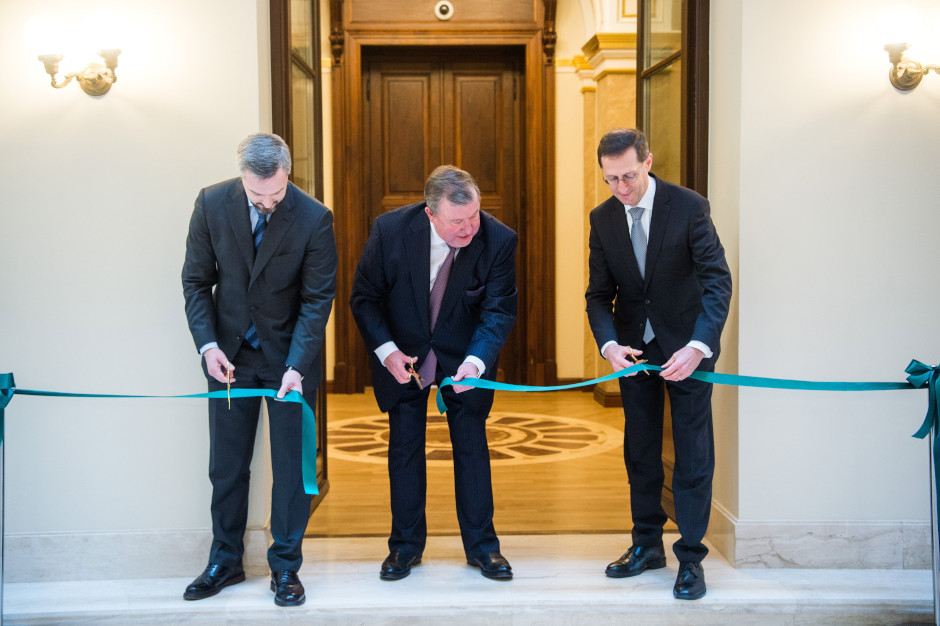 Finance Minister Inaugurates HQ Of International Investment Bank In Budapest