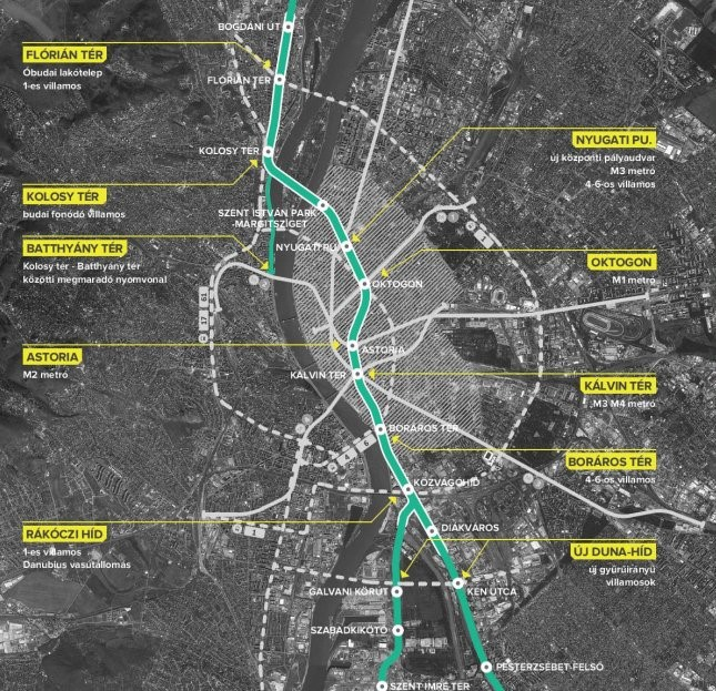 Construction Of New Metro Line In Budapest Has Commenced