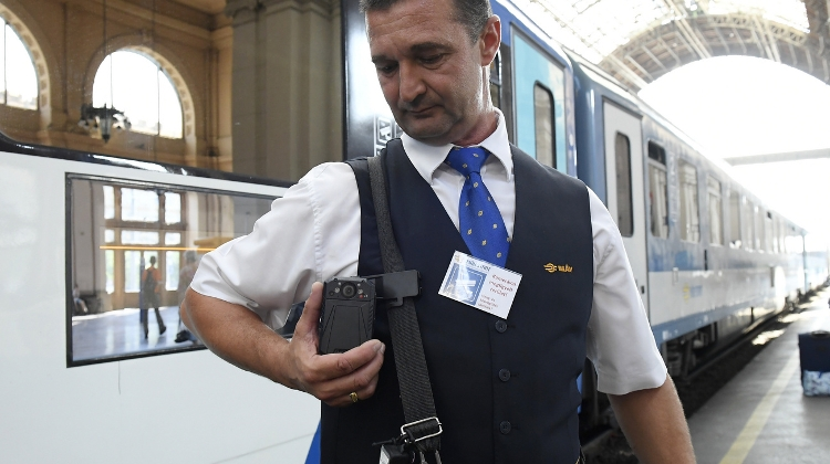 Hungarian Railway Company Issues Bodycams To Conductors