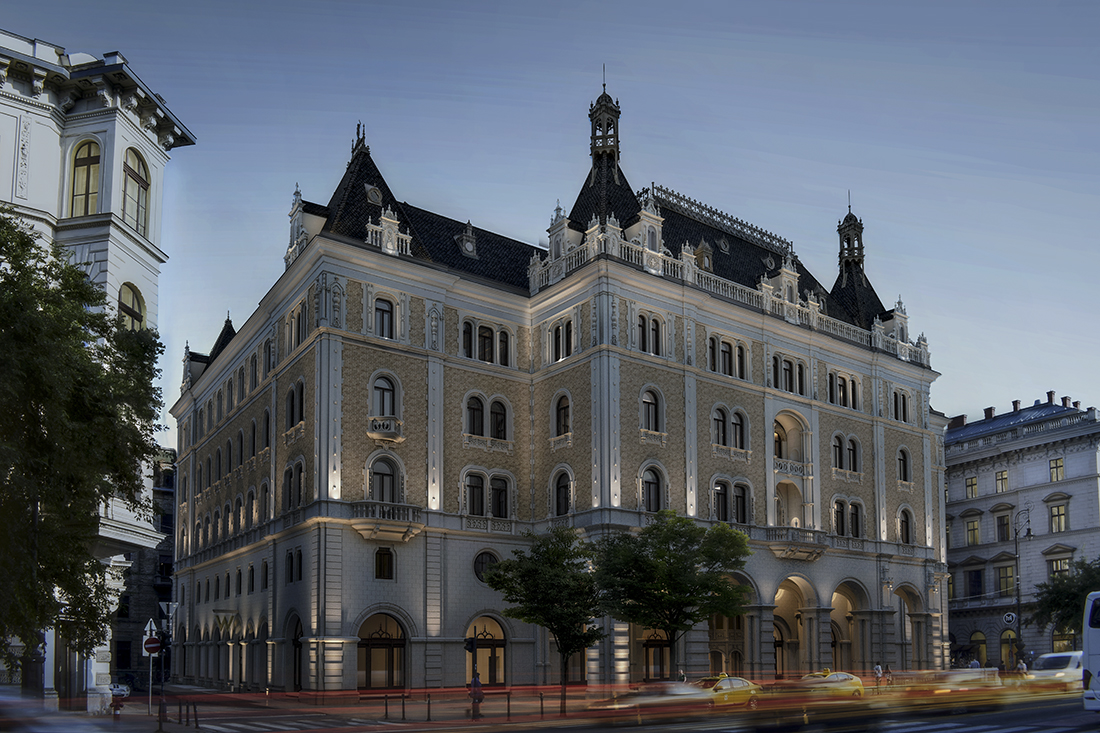 Five-Star Hotel To Open In Budapest Landmark Drechsler Palace