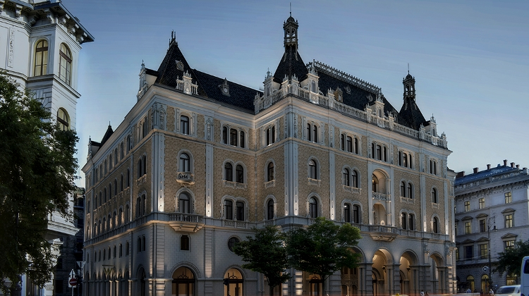 Five-Star Hotel To Open In Budapest Landmark Drechsler Palace In 2022