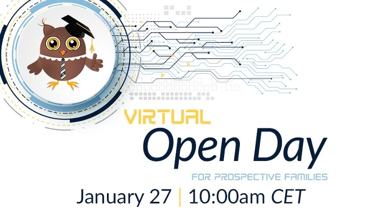 Virtual Open Day @ Britannica International School, Budapest, 27 January
