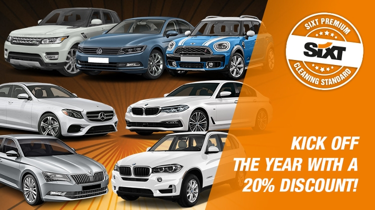 Kick Of New Year With A 20% Discount From Sixt Rent A Car In Hungary