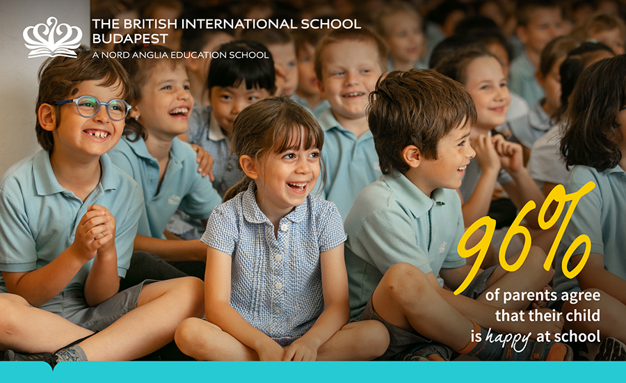 Exceptional Parent Satisfaction Scores Achieved By The British International School Budapest
