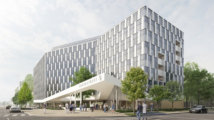 First Building Of BakerStreet, Atenor's Development In South Budapest, Received Final Building Permit
