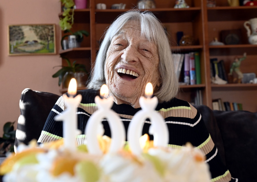 Watch: Hungarian Leaders Congratulate Oldest Olympic Champion On Her 100th Birthday
