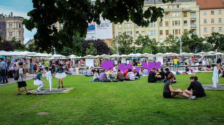 WAMP: 'Design In The City' @ Erzsébet Square, 5 August