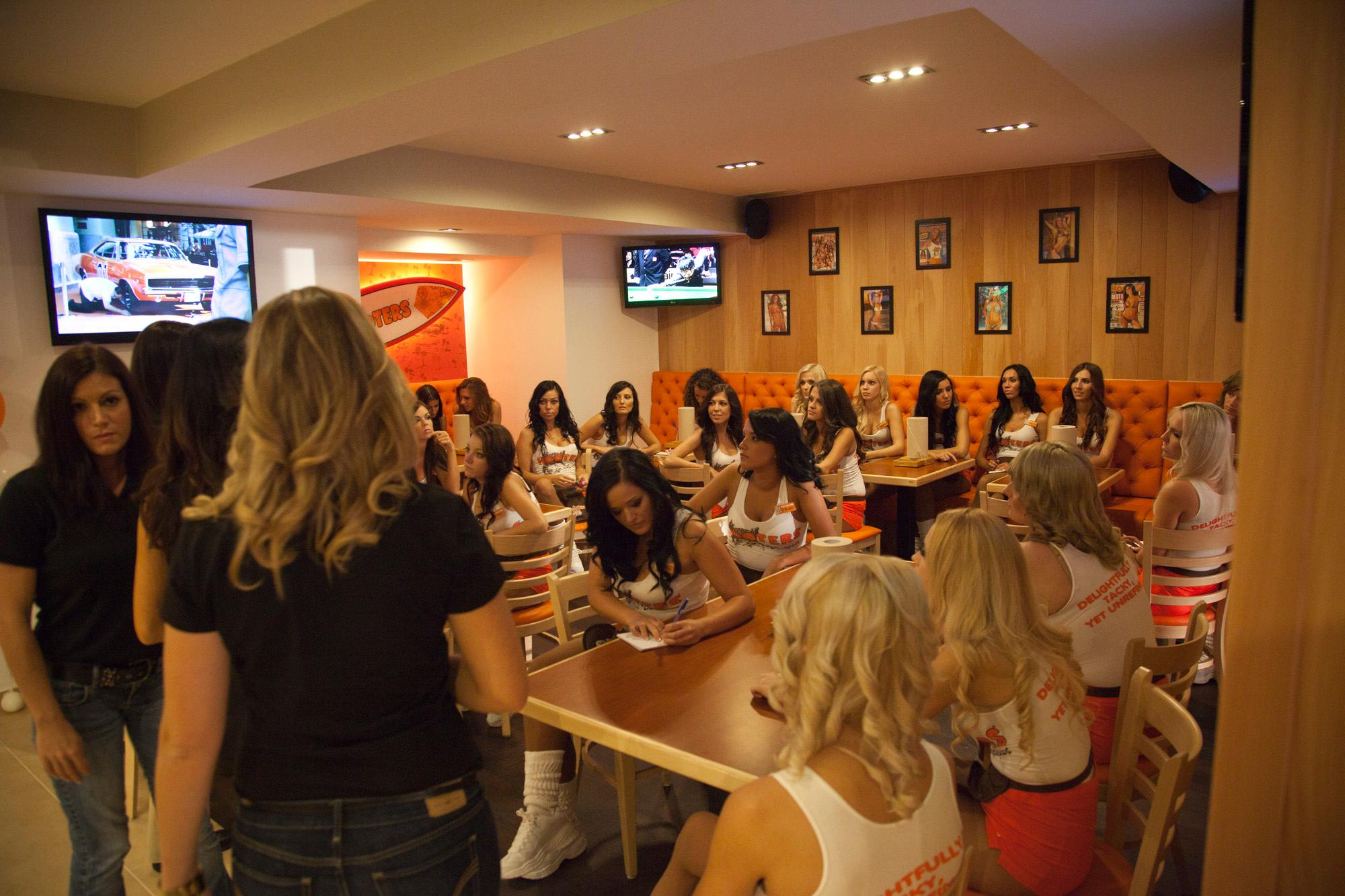 Hooters Budapest VIP Opening Party, 25 August 2012