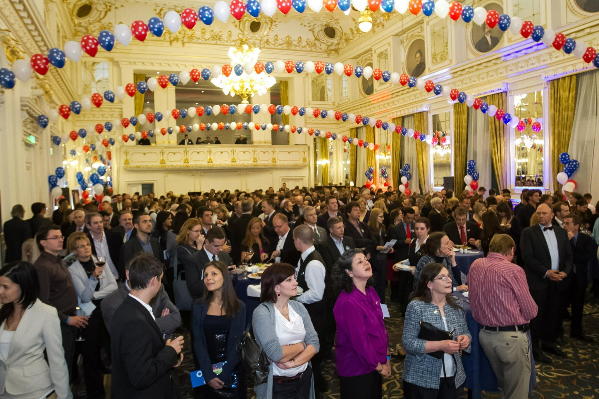 AmCham's American Election Night, Corinthia Hotel Budapest, 6 November 2012