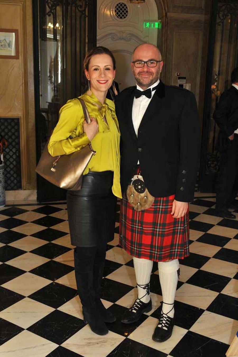British Ambassador's Burns Night In Budapest, 25 January
