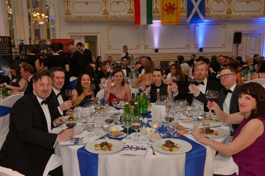 Burns Supper Budapest, Corinthia Hotel, 21 January 2017