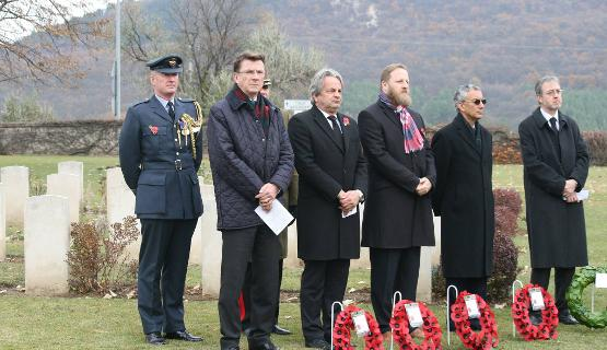 British Annual Remembrance Ceremony In Hungary