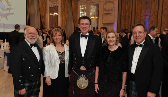 'Big Burns Supper' @ Corinthia Hotel Budapest