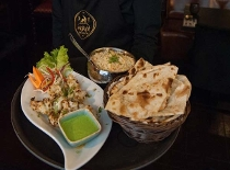 Fine Indian Fare @ Rajkot Palace Budapest