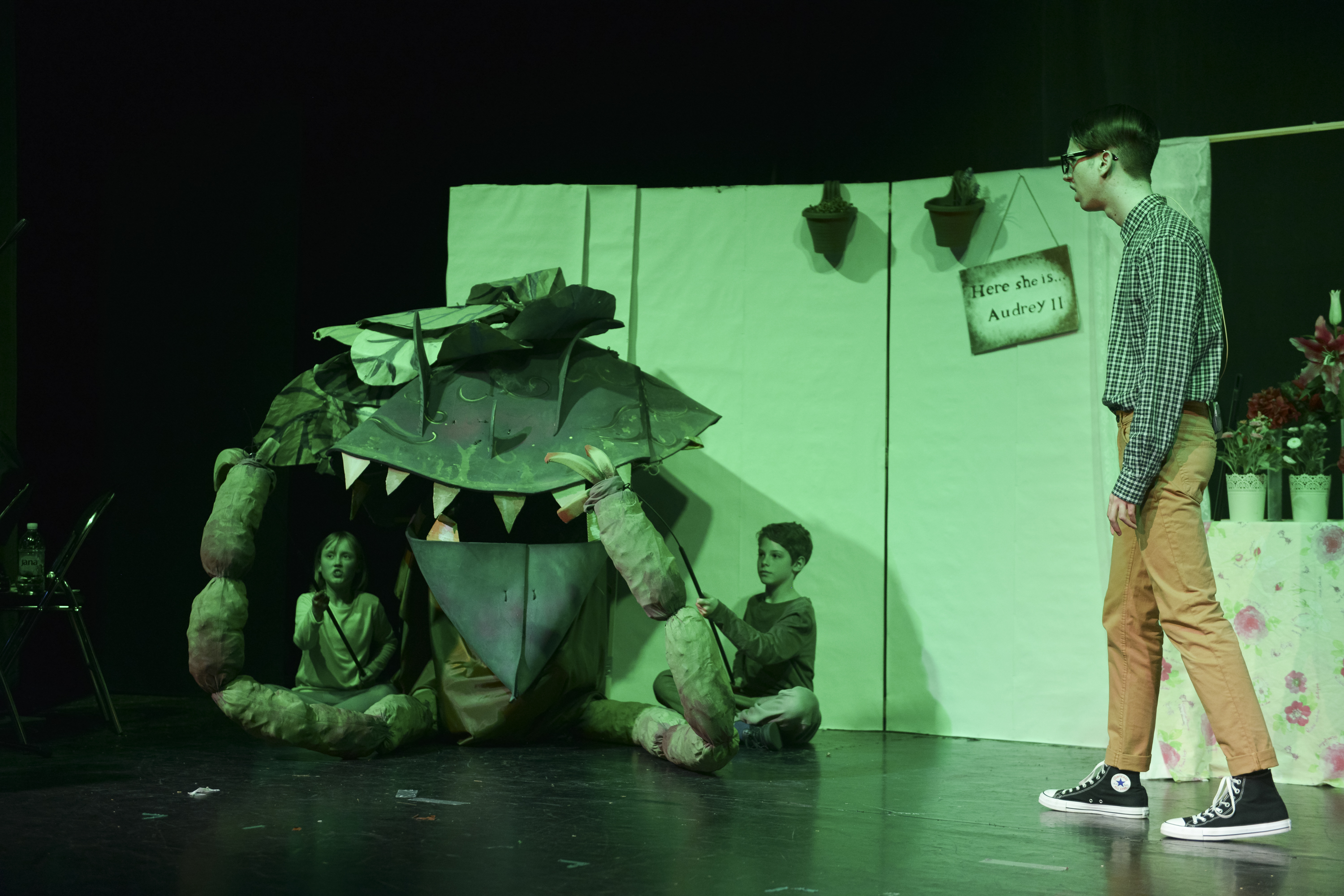 The British International School Budapest Theatre Performance: 'Little Shop Of Horrors'