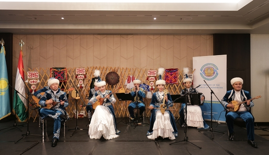 Independence Day Of The Republic Of Kazakhstan Held In Budapest, 9 December