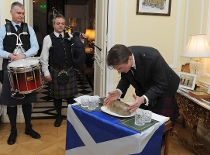 British Ambassador's Burns Night In Budapest 2019