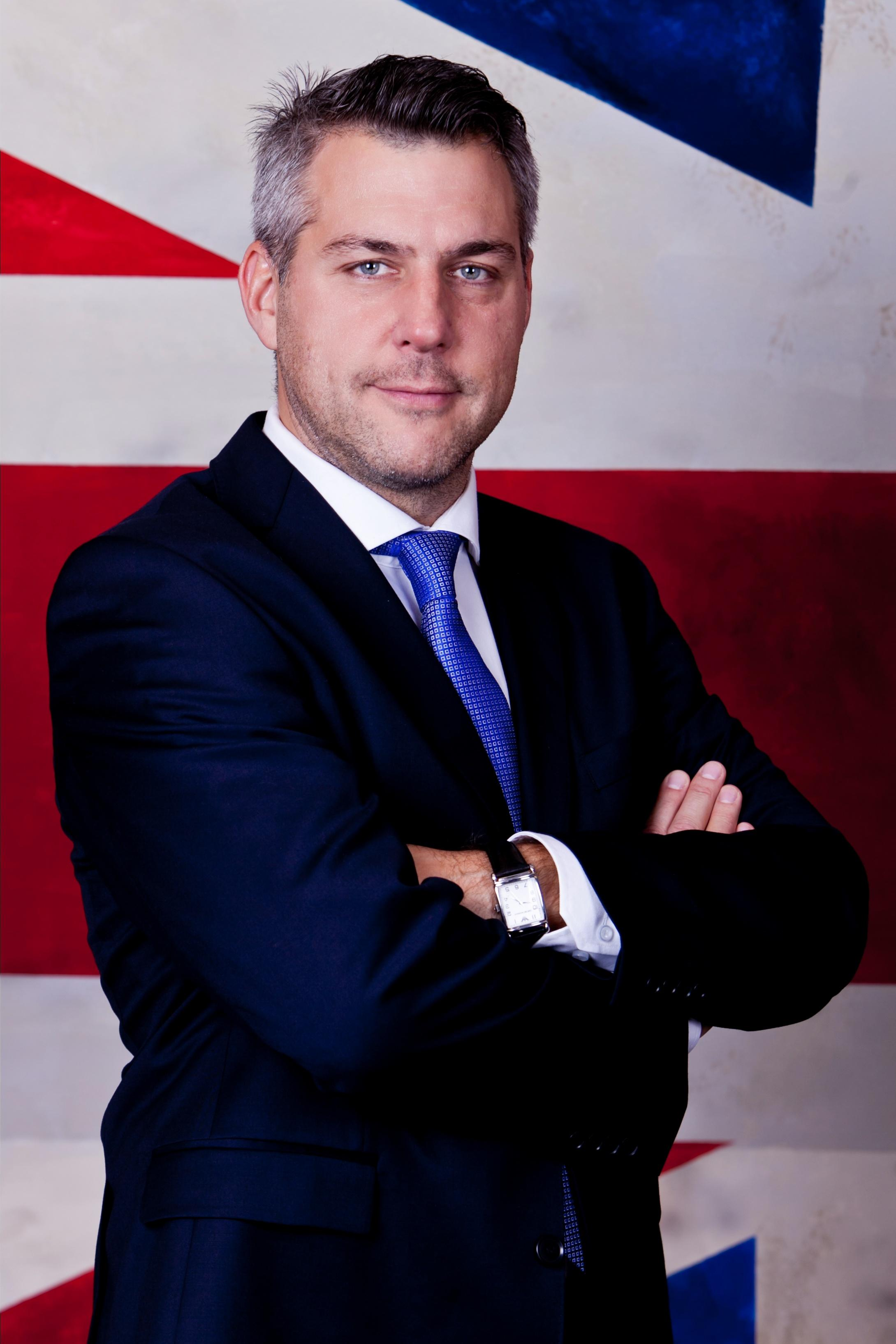 Olivér Strommer, Head of British Business Center