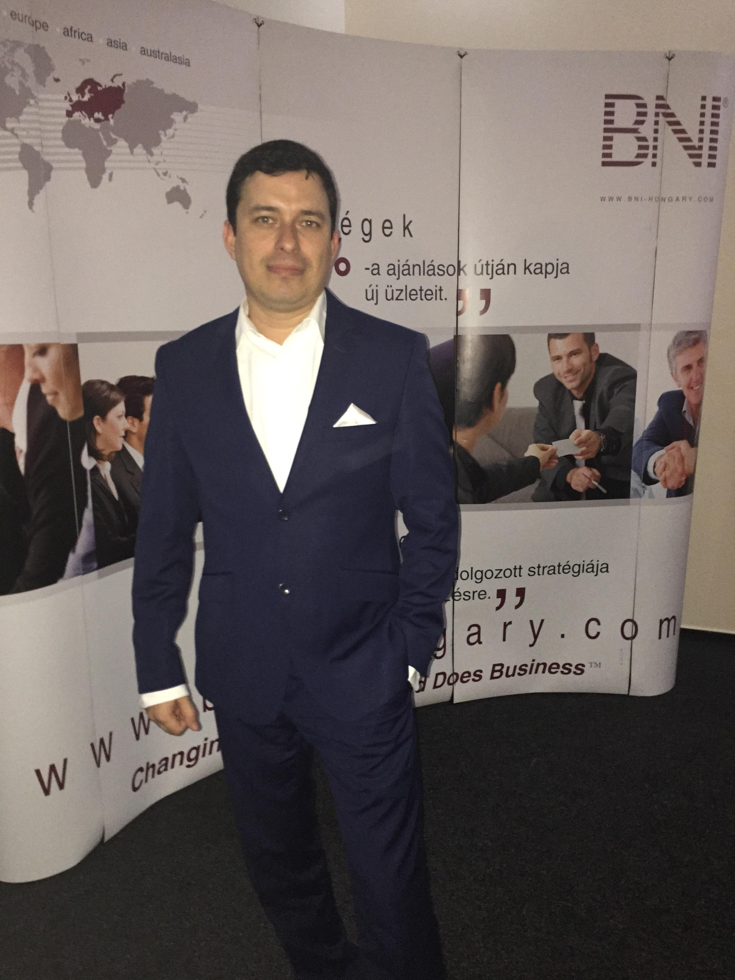 Dávid Rodriguez, Managing Director, Vip Holding Europe Kft.