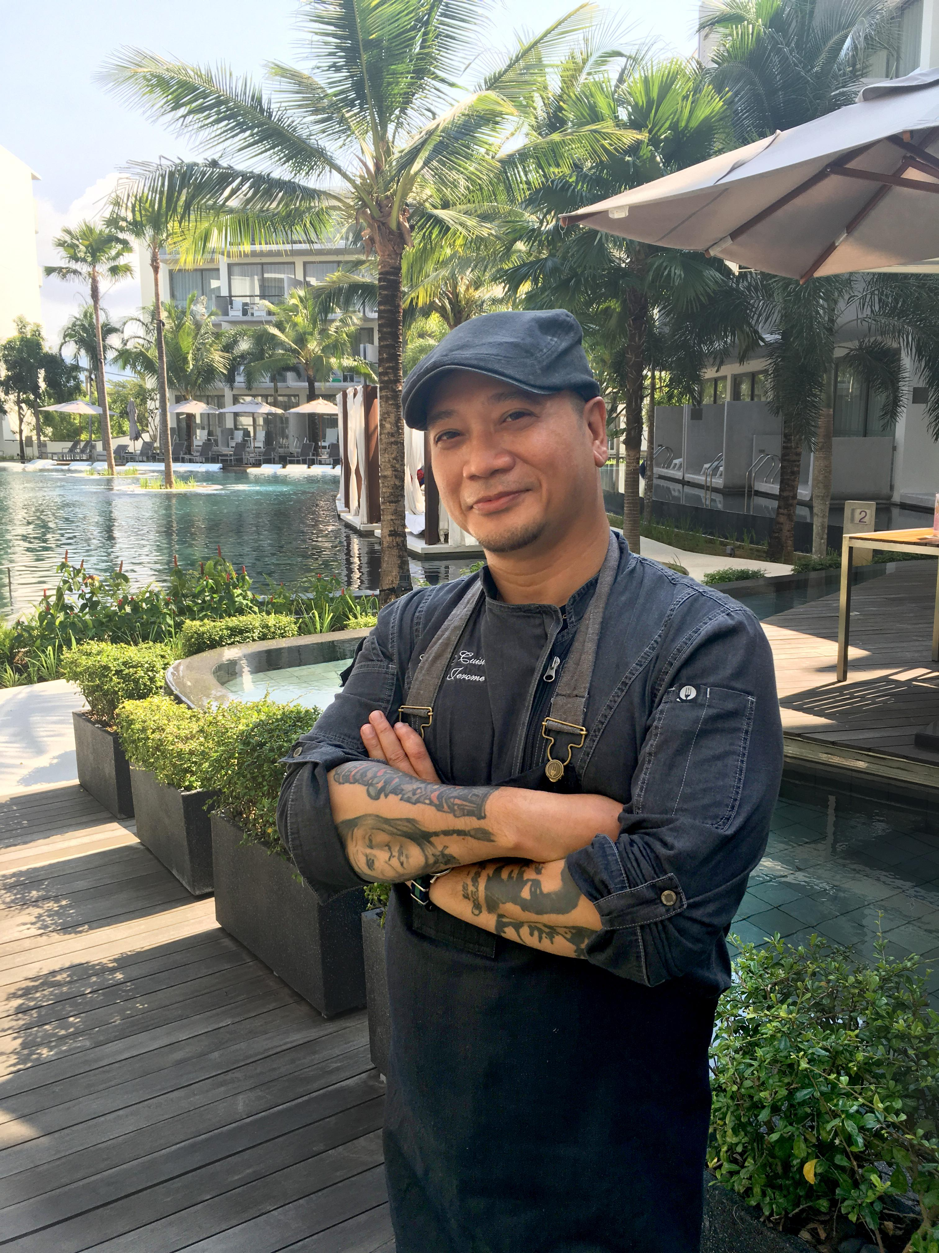 Alfie Jerome Mossadeg, Head Chef at Dream Hotel Phuket