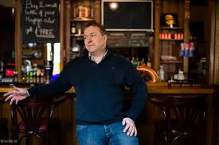 Declan O'Callaghan, Owner, Becketts Irish Bar In Budapest