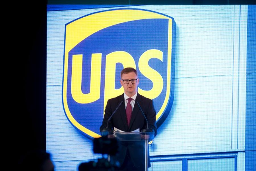 Jim Kearney, Managing Director, UPS Hungary, Greece & Romania