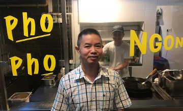 Luu Tan Nguyen, Owner, Ngon Thai Restaurant