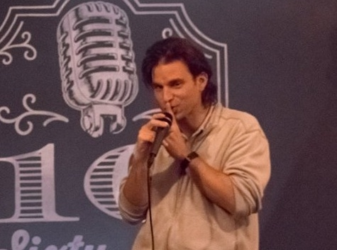 Michaël Wertenberg  French-American Author, Stand-Up Comedian