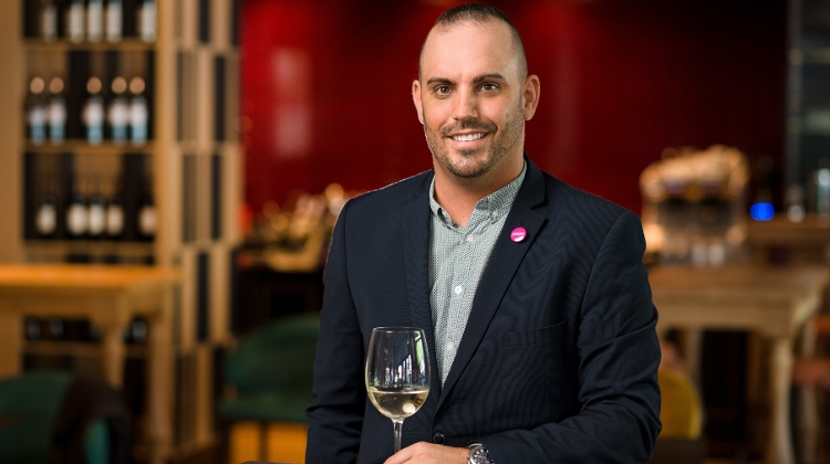 Daniel Erdei, Manager of Winestone Restaurant in Budapest
