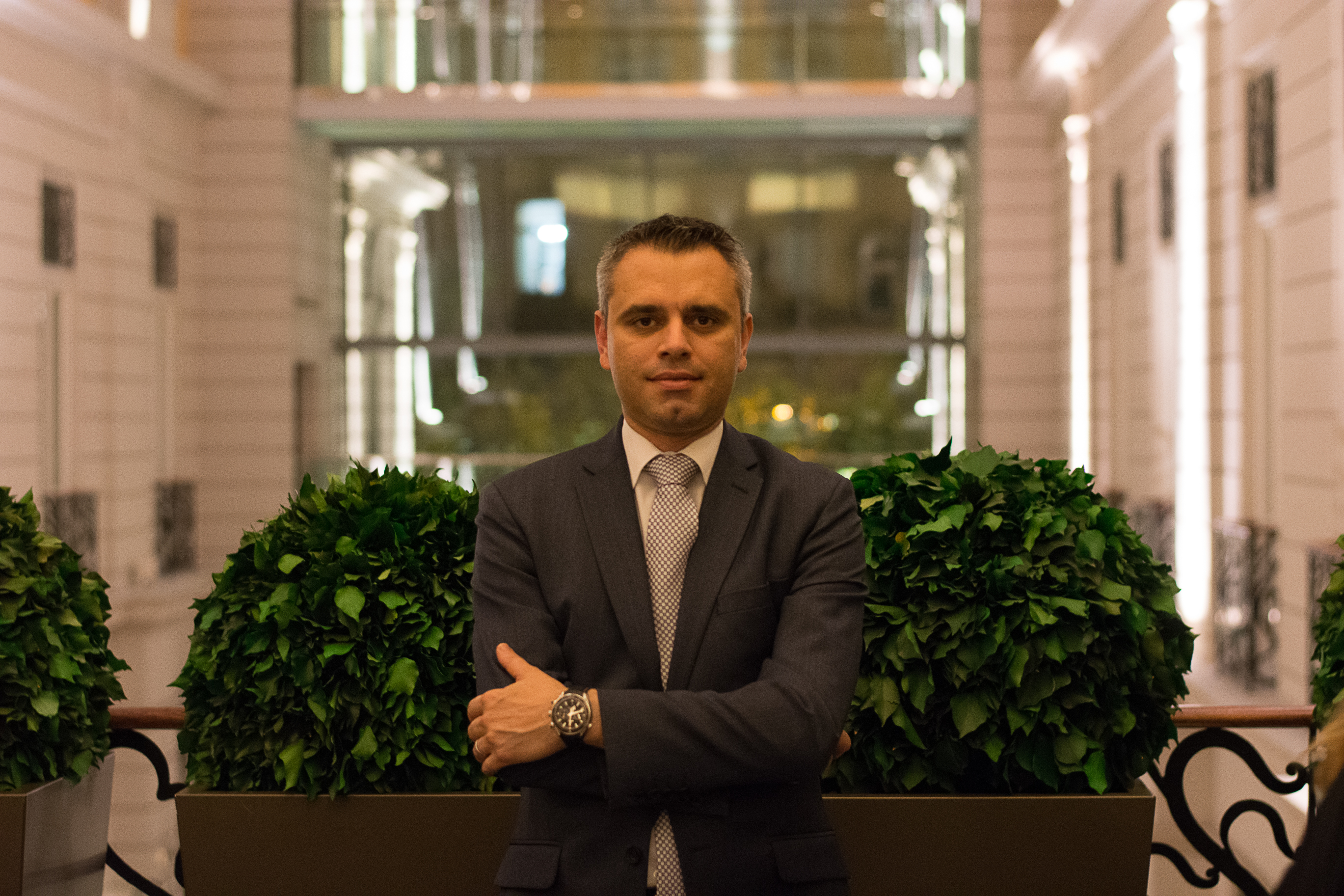 Jonathan Pace, General Manager, Corinthia Budapest